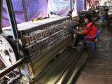 Traditional Mechanized Loom for Weaving the Mats