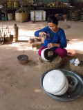 Silversmith in Koh Chen