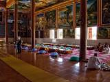 Monk's Dining Hall at Vipassana Meditation Center