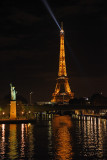 Eiffel Tower View from Grenelle Port