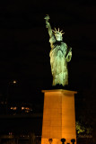 Statue of Liberty on Ile Aux Cygnes