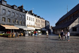 Square in the town center of Honfleur