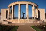 Memorial At American Cemetery Normandy