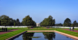 American Cemetery View from the Reflecting Pool
