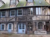 Half Timber House at Ossuary of Saint Maclou
