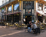 Sidewalk Cafe in Rouen