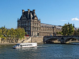 The Seine Looking toward the Pont Royal and the Louvre