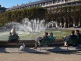 Fountain in the Jardin du Palais Royal