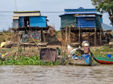 Blue Houses on the Mekong