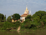 Small Temple on the Riverbank