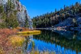 fall colors of Rock Creek Lake