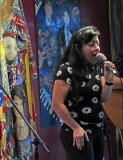 2018_06_26 Open Stage at Gracie Janes' with Brian and Laura