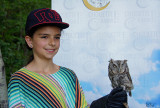 Laurianne et son petit-duc - Laury with her screech-owl !