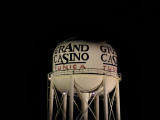 Grand Casino WT in the dark of night.
