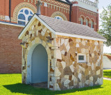 Stone hutch on the St Cyril grounds