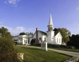 Ephraim Moravian Church. Sister Bay, WI