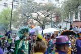 Krewe of Zulu Parade Mardi Gras New Orleans 2017