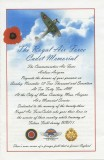 Royal Air Force Cadet Memorial Service - 2017