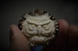 Antler burr owl