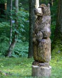 4ft chainsaw bear