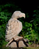 Chainsaw eagle in progress