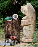 Chainsaw bear blocked out #1