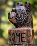 Welcome bear head