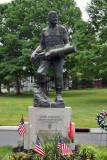 Sgt. John  Basilone statue, Raritan, NJ