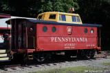 Pennsylvania RR Caboose 477823
