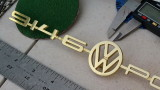 914-6 VW Porsche Emblem + Trunk Lock Hole Cover