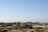 Finding a Campsite at Slab City