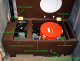 Composting Toilet (open)