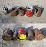 Trash Cans - Making a Stove from Trash