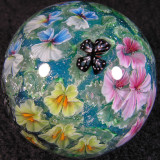 Nemesia and Butterflies Size: 1.35 Price: SOLD