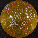 Love & Peace Size: 1.84 Price: SOLD