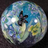 #146: Iris Garden & Butterflies Size: 1.30 Price: $310
