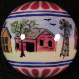 Gregg Pessman, Country Living Size: 1.36 Price: SOLD