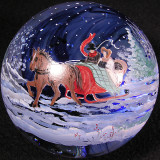 Julia Powell: Sleigh Ride Size: 2.78 Price: SOLD