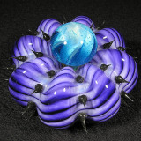 #304: Mark Eckstrand: Urchin Mib Size: 2.66 x 1.75 Price: $150