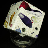 Tectonic Cube 4 Size: 2.25 Price: SOLD