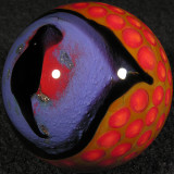 #6: Infected Lizard Eye  Size: 1.55  Price: $60