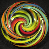#29: Mini Color Cascade Bowl Size: 4.00 x 1.50 Price: $90