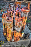 Oil Can Display