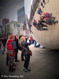 Group Selfie at the Cloud Gate