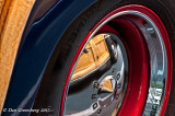 Reflection in 49 Ford Hubcap