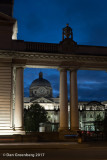 Government Buildings at Night