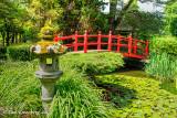Japanese Gardens - Bridge and Lantern