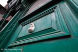 The Face in the Green  Door