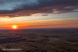 Sunset from Steptoe Butte