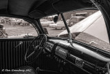 Looking Out from a 1940 Ford